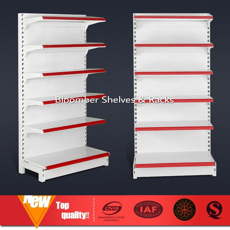 7ft Metal Supermarket Wall Shelve