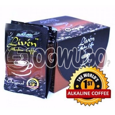 The world first Alkaline coffee. Liven coffee is made of the finest class Arabia combine with complete phyto- Energizer.