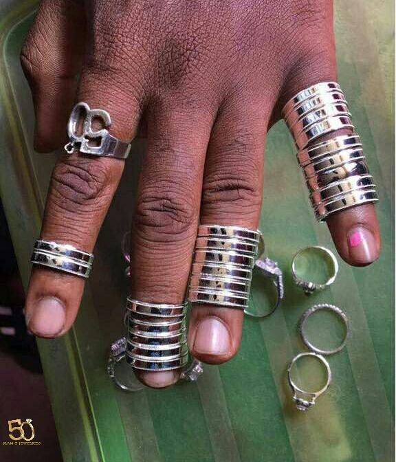 fashion rings (silver)
