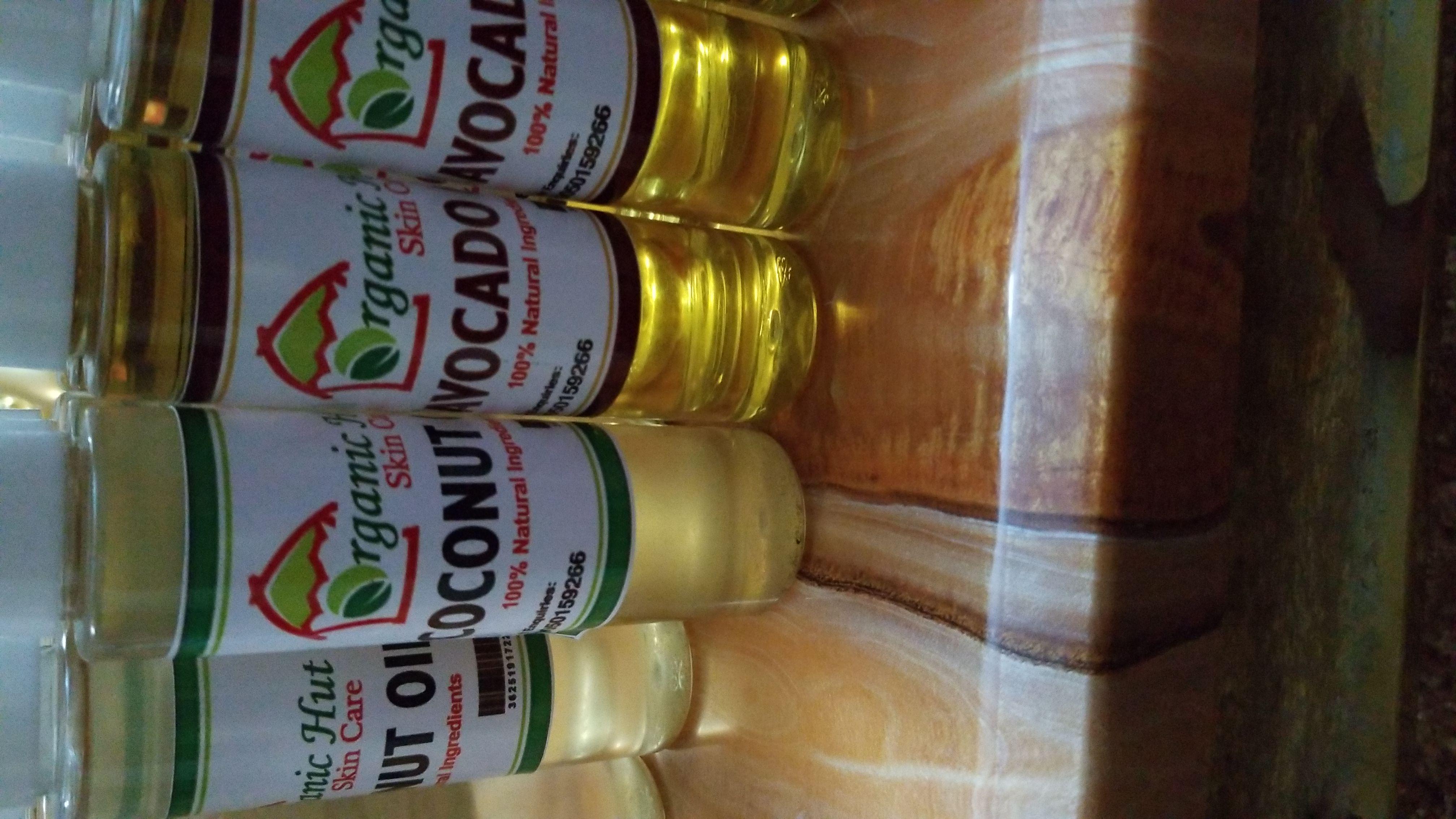 Coconut, avocado, almond n olive oil
