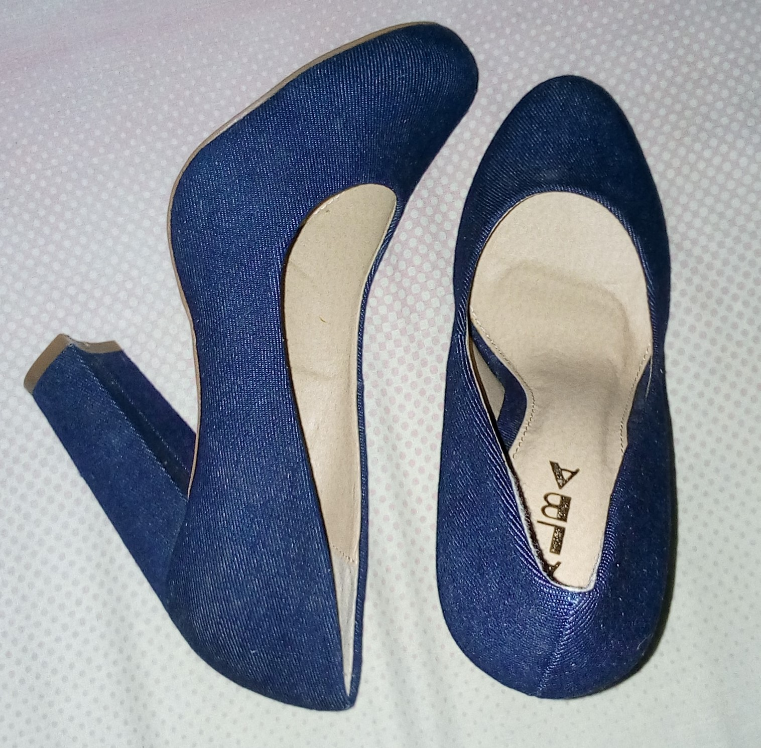 ALBA Denim Pump