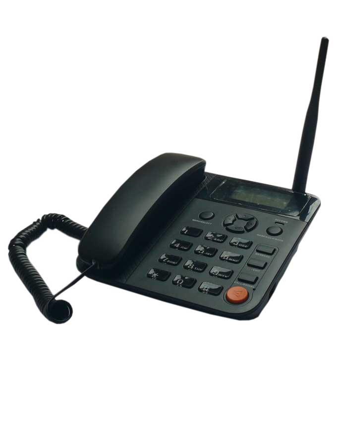 Dual SIM GSM Desktop Phone + Free SIM & Airtime