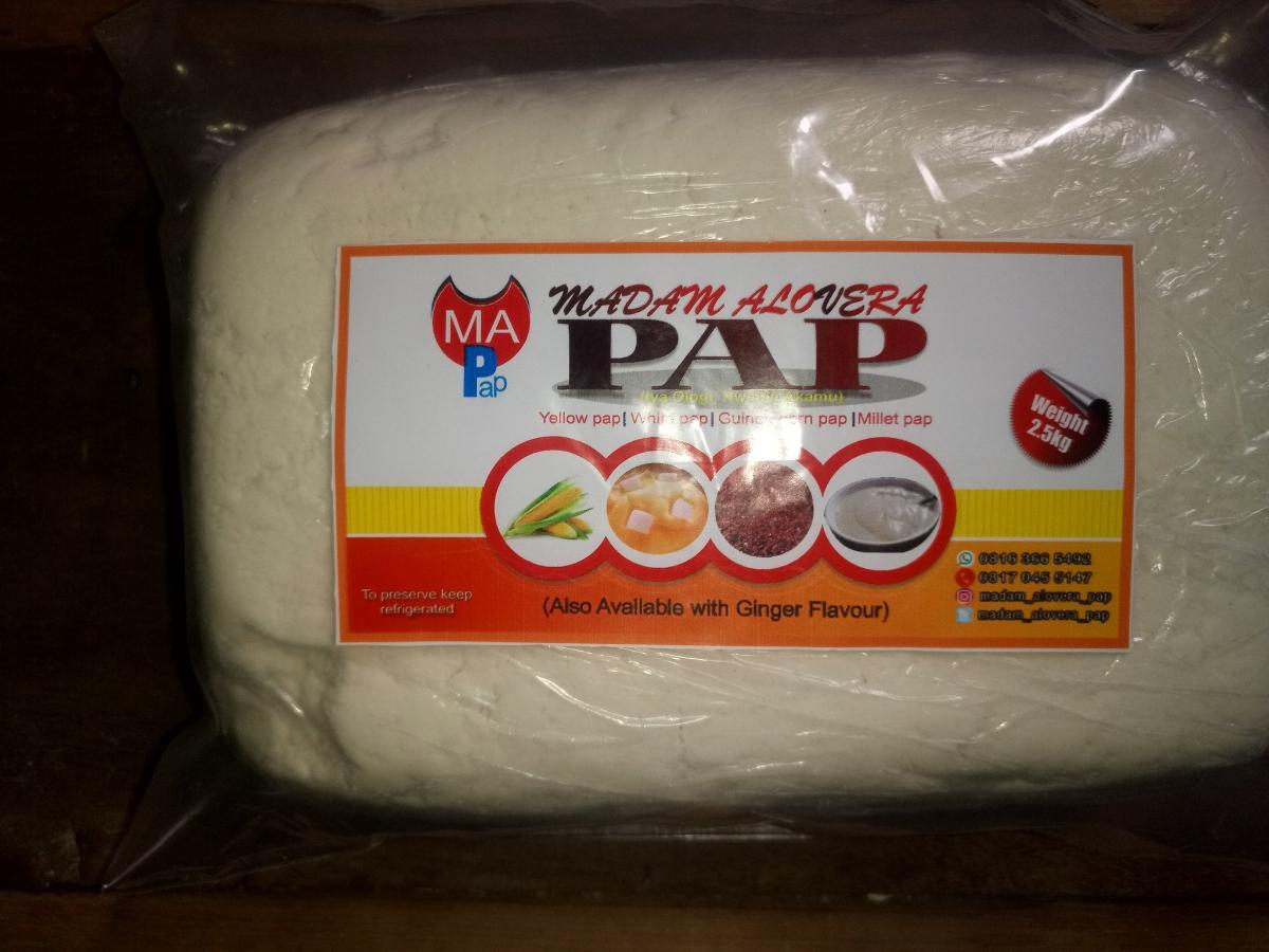White pap 2.5kg