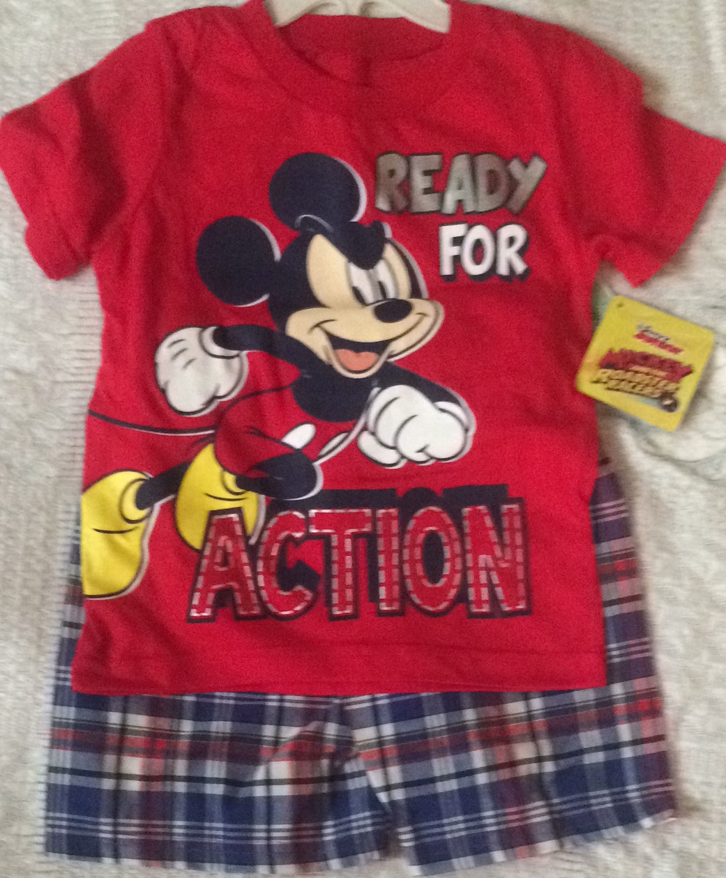 Toddler Boys 2pc Disney wear