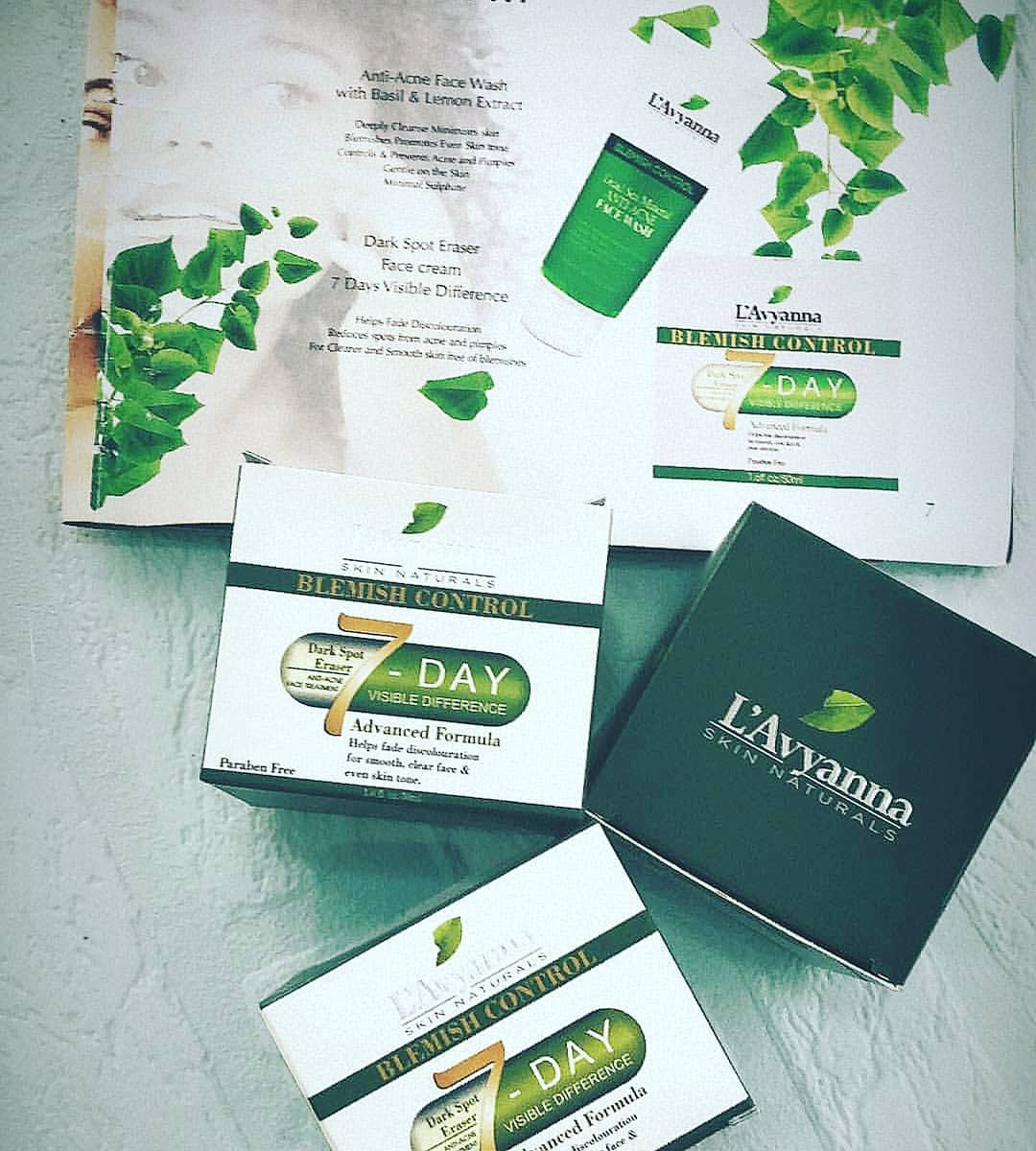 Lavyanna 7days Spot Removal Anti Blemish Face Cream
