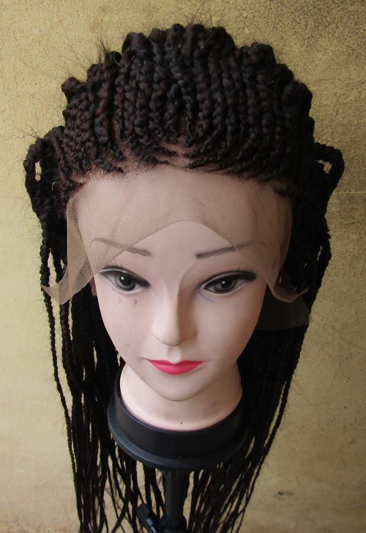 360 braided wig