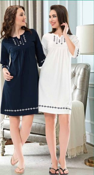 Ladies Cotton Nightdress