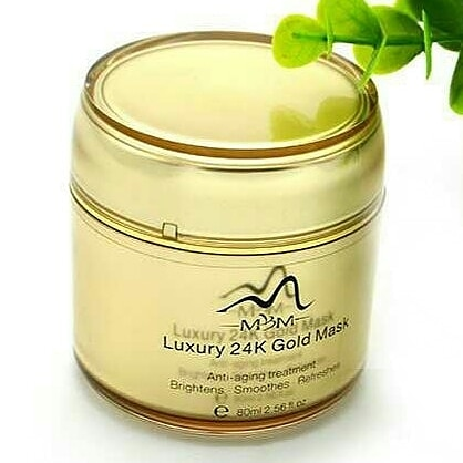 Luxury 24k gold face mask