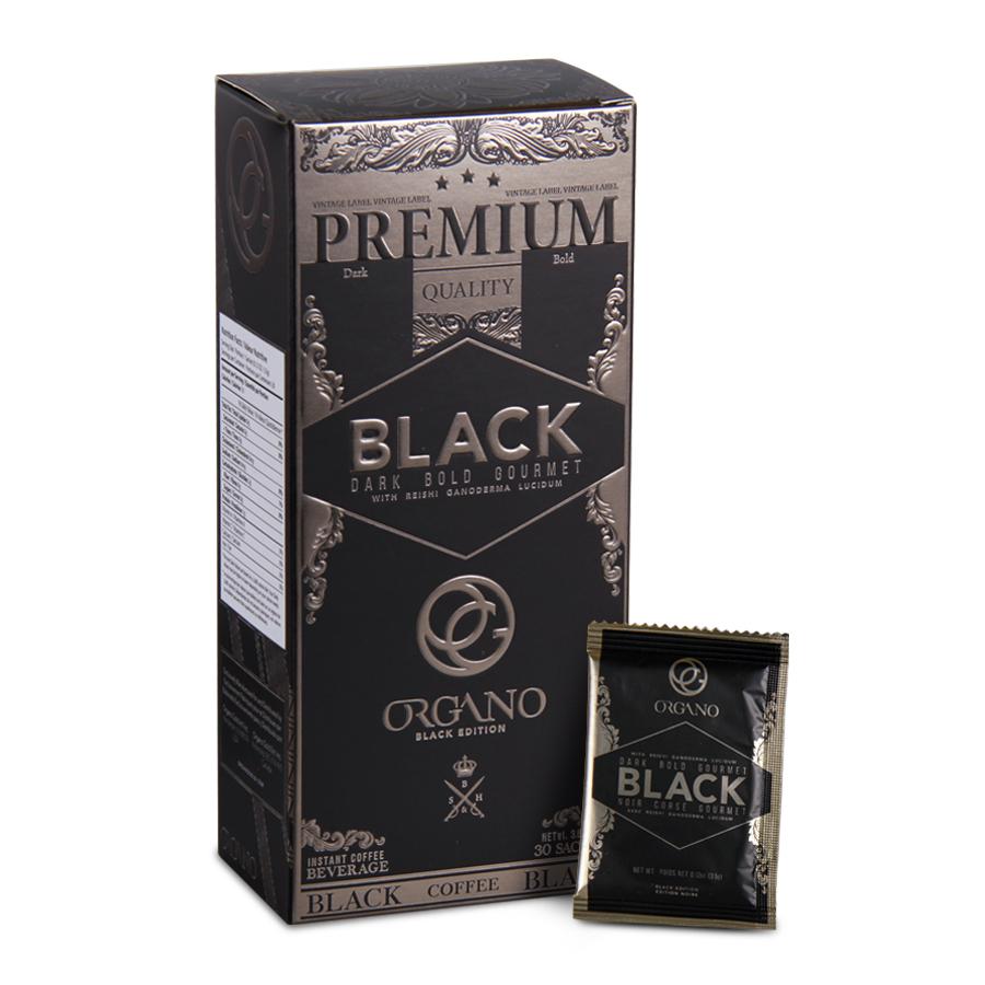 Organo Gold black gourmet coffee