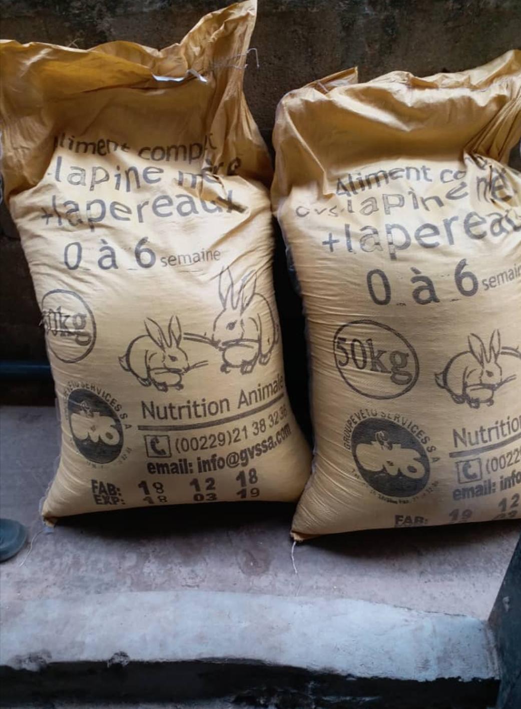 Grasscutter /Rabbit feed