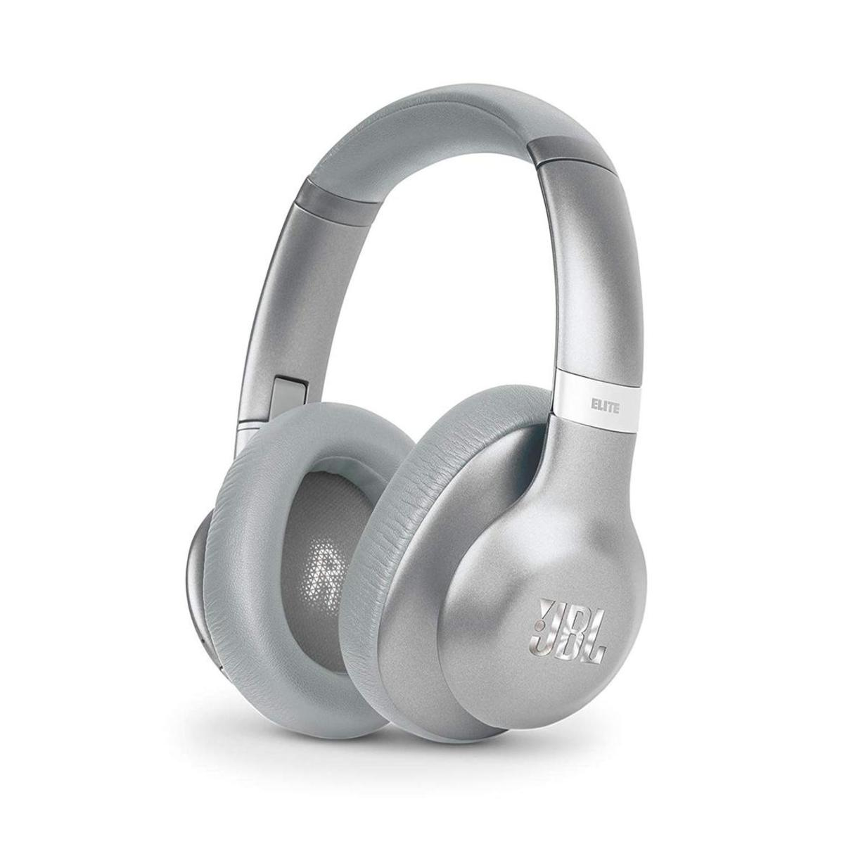 JBL Everest 750 Over-Ear Wireless Bluetooth Headphones Silver
