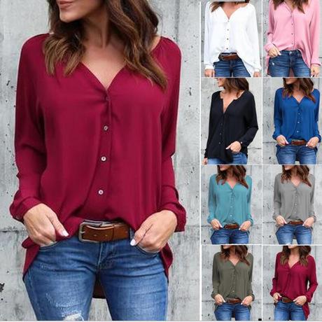 Chiffon Shirt with a twist