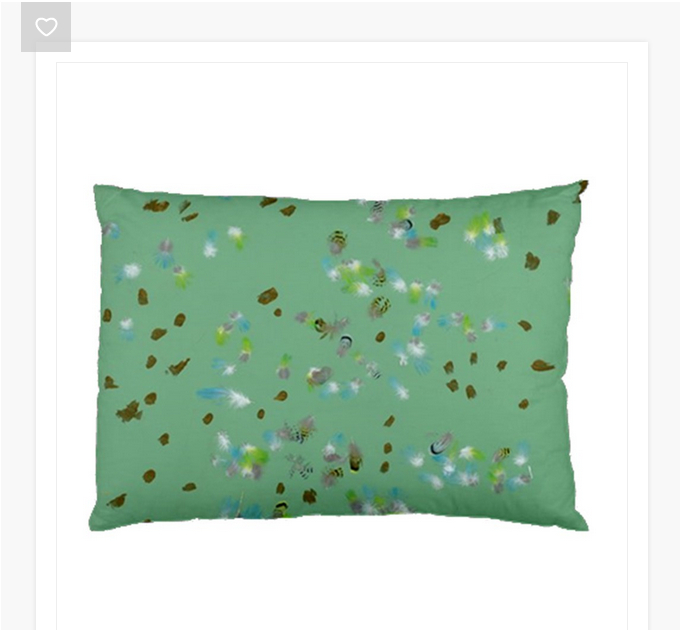 forest Birds Pillowcase (Two Sides)