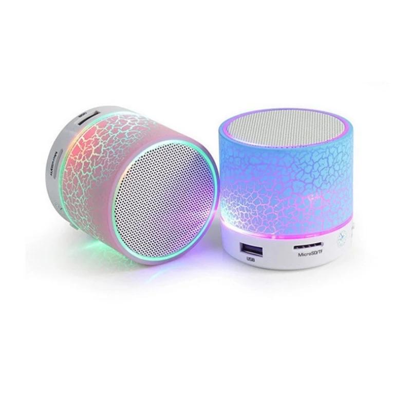 Wireless Mini LED Bluetooth Speakers