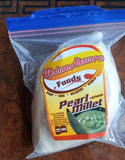 Millet pap( with ginger) 1kg